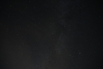 Fototapeta Beautiful Night Sky Twinkling with Stars shining up the night