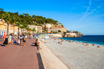 Foto op Canvas Nice Promenade des Anglais in Nice