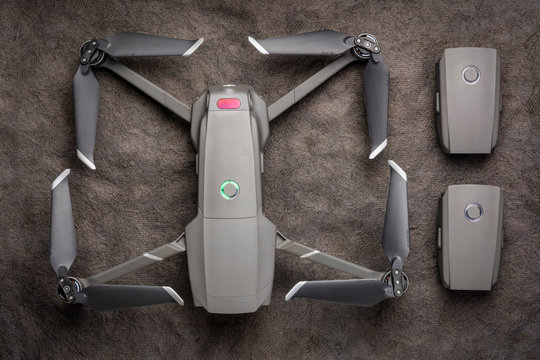 DJI Mavic 2 pro drone with spare batteries