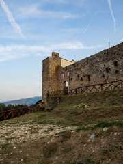 Pietrasanta, view of the Rocca di Sala - city walls