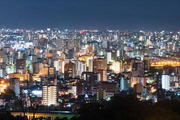 Fotomurales - 都市風景 熊本市 夜景