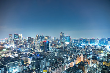 Wall Mural - 東京 夜景