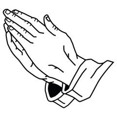 Hands Praying.