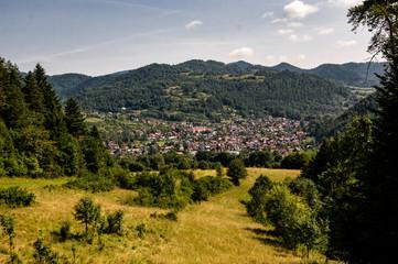 Kroscienko town