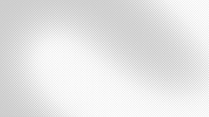 Light grey retro comic pop art background with haftone dots design. Vector clear template for banner or comic book design, etc
