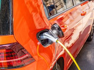 Elektroauto Ladestation Umweltschutz Klimawandel Co2