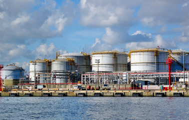 Large Fuel Storage Tanks
