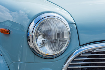 Printed roller blinds Vintage cars 自動車のヘッドライト Headlight of the car