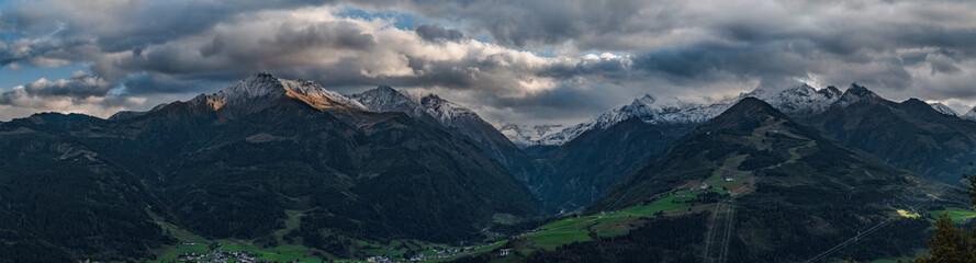 Foto op Plexiglas Panoramafoto s Mountain view in Austria