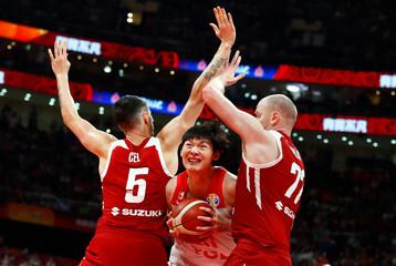 Basketball - FIBA World Cup - China v Poland