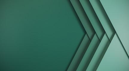 Fotobehang - Abstract green web banner