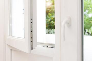 Secure anti-theft burglars-proof window locking mechanism 鈥� strong modern PVC metal window