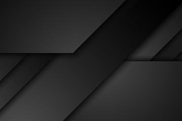 Abstract black diagonal overlap background Wall mural