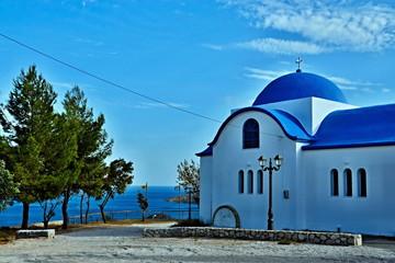 Greece-church in Tolo