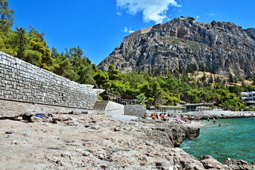 Greece-view of the fort Palamidi