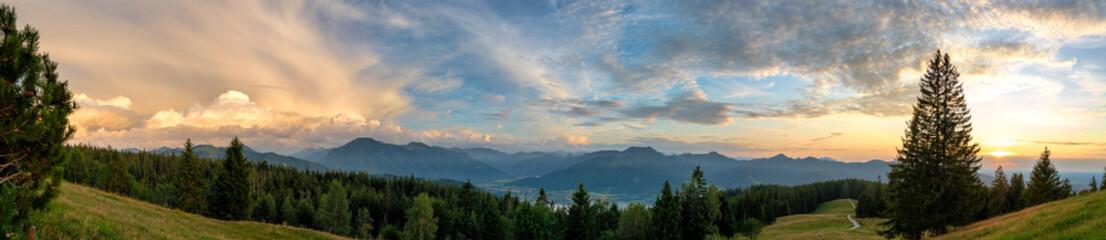 Bergpanorama Tegernsee