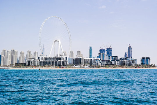 Views from a boat in Dubai