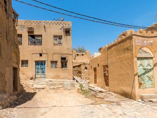 Ruins in the Old Village of Al Hamra Sultanate of Oman