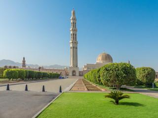 Wall Murals Sultan Qaboos Grand Mosque in Muscat (مسقط, Maskat) Sultanate of Oman