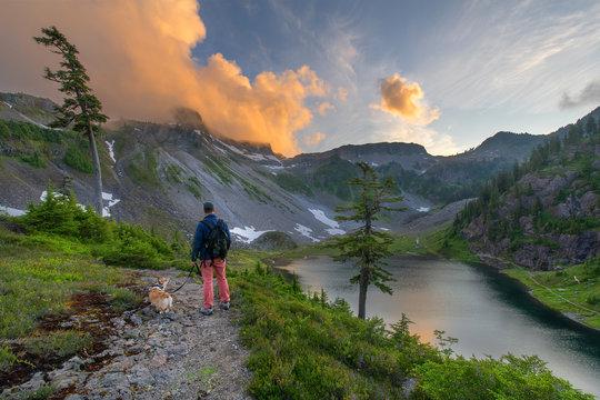 Mount Baker Snoqualmie Wilderness in Washington State
