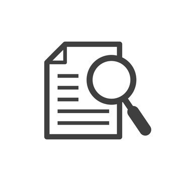search for information vector icon