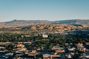 View from Pioneer Park, in St. George, Utah