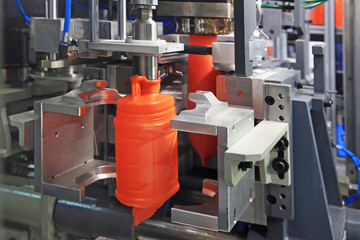 production of plastic cans