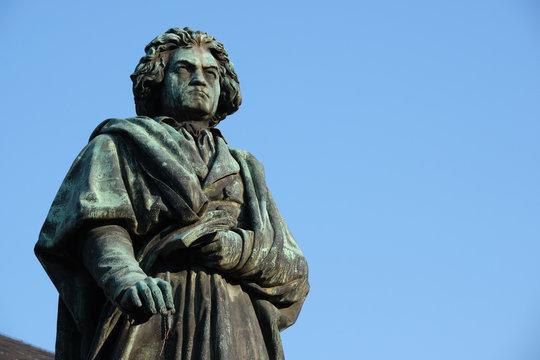 Statue of Ludwig van Beethoven in Bonn