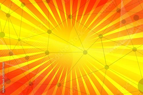 Abstract Design Illustration Wave Orange Pattern Blue