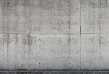 Wall Mural - Gray concrete wall texture