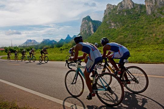 Cycling triathlon weekend