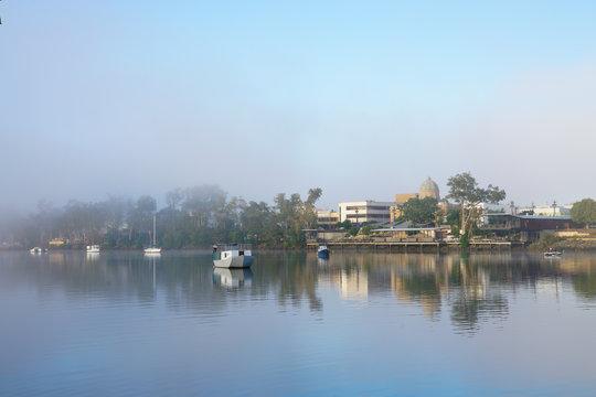 Fitzroy River at Rockhampton, Queensland, Australia