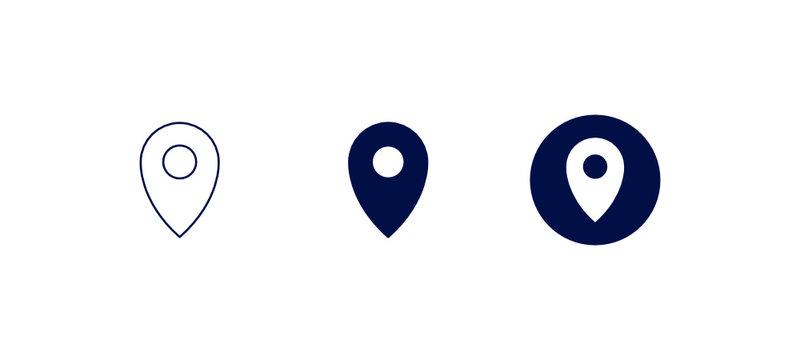 Symboles de localisation