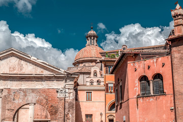 The old Jewish Ghetto of Rome
