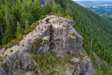 Hiking in the Rattlesnake Ridge in Washington State