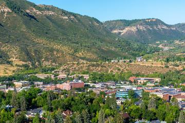 Downtown Durango, Colorado on a Sunny Day