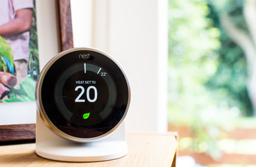 """Nest"" learning thermostat"
