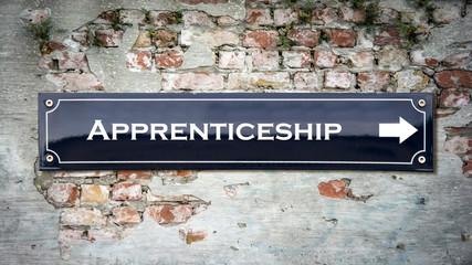 Street Sign to Apprenticeship