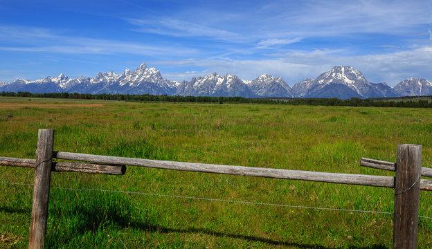 Elk Flats View of the Grand Tetons