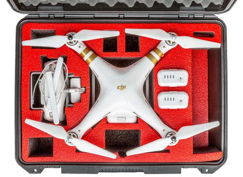 drone in waterpoof case
