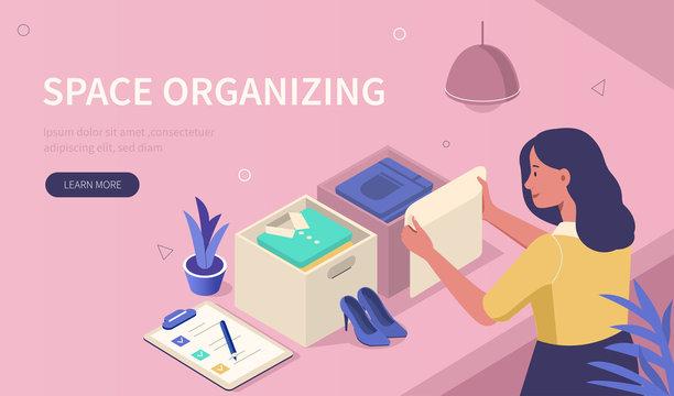 space organizing