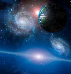 Fototapete - Planet Earth