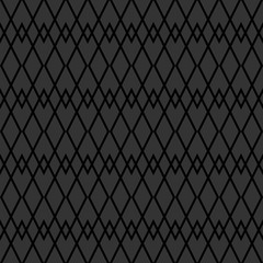 Tile vector pattern with black and grey background