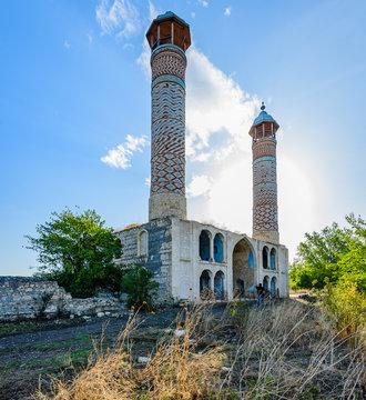 Agdam mosque in Nagorno Karabakh