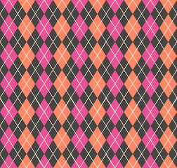 Argyle pattern, geometric simple background