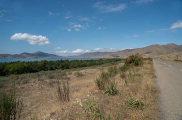 Lake Sevan in Armenia