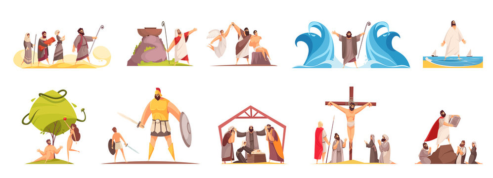 Bible Narratives Characters Set