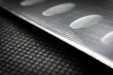 Macro Picture of a Knife Edge