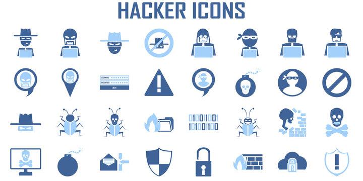 hacker icon cyber spy vector.