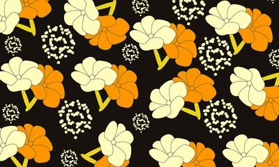 A flower pattern background